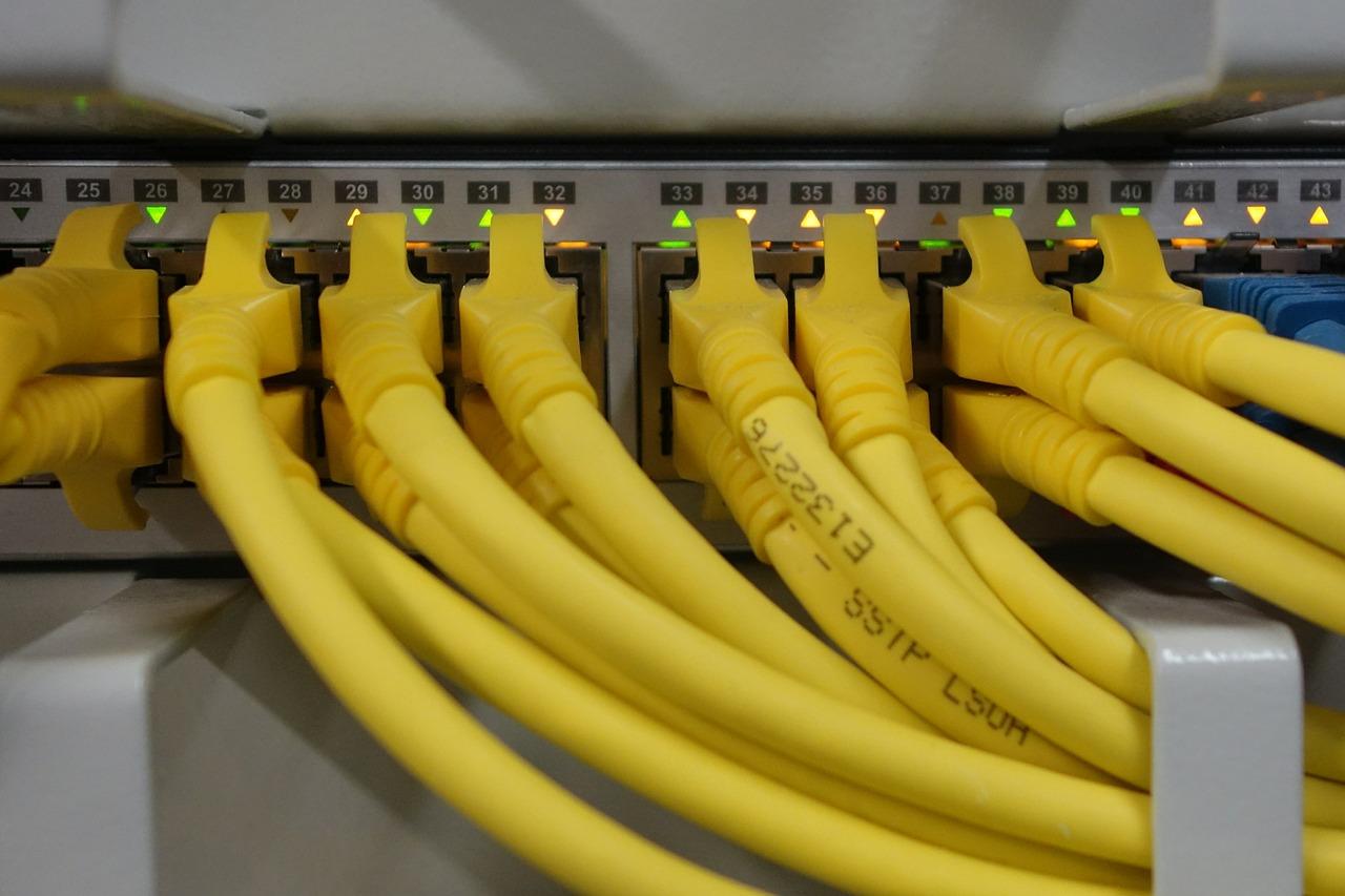 Ethernetverkabelung
